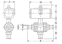 3-Way Air to Air Ball Valve-2