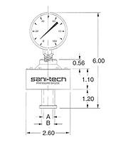 Vertical Pressure Gauge Guard-2